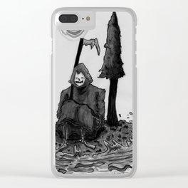 need a break Clear iPhone Case