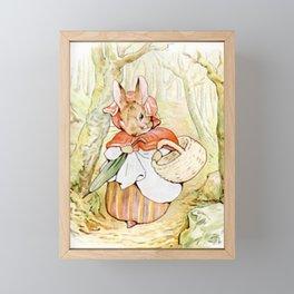 Beatrix Potter, Rabbit Framed Mini Art Print