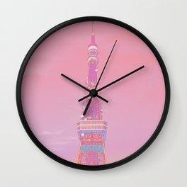 Summer Tokyo Tower Wall Clock