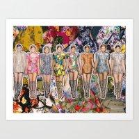 Balenciaga, Spring 2008 Art Print