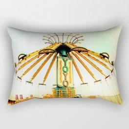 The Yo-Yo Rectangular Pillow