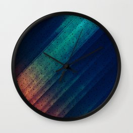 Escape Reality Abstract Print Wall Clock