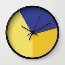 Color block #5 Wall Clock
