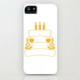 """Birthday Shirt For Those Whose Birthday Is Coming Near """"I Can't Keep Calm It's My Birthday"""" T-shirt iPhone Case"""