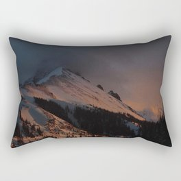 Sunset at Nohku Crags Rectangular Pillow