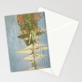 Regattas at Argenteuil by Claude Monet Stationery Cards
