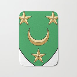 Coat Of Arms Of Algeria_Country_History_(1830-1962) Bath Mat