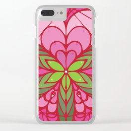 LOVE grows life seed Clear iPhone Case
