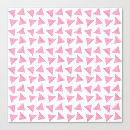 pink pattern Canvas Print