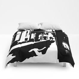 Dark Alley Comforters