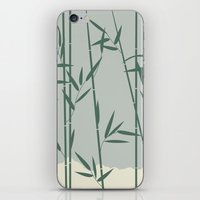 bamboo iPhone & iPod Skins featuring Bamboo by Rceeh