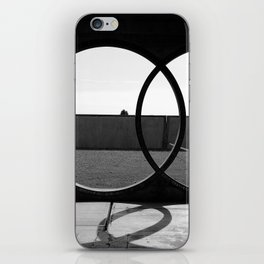 Double Circle iPhone Skin