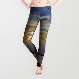Ex Paradise of the Former Political Upperclass of the GDR in Wandlitz Leggings