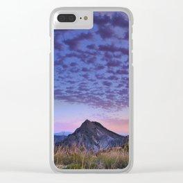 Sunset at the mountains. Boca de la Pesca Clear iPhone Case
