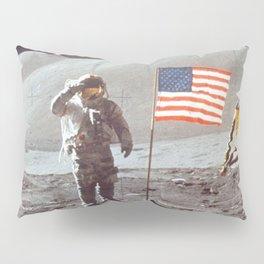American Moon Landing Pillow Sham