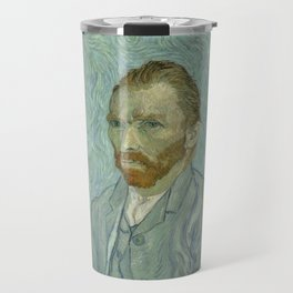 Vincent van Gogh - Self Portrait Travel Mug