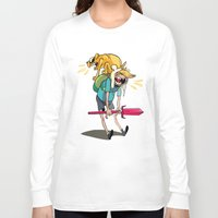 musa Long Sleeve T-shirts featuring what time is it by musa