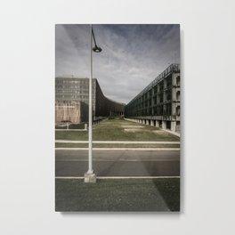 US Census Building Metal Print