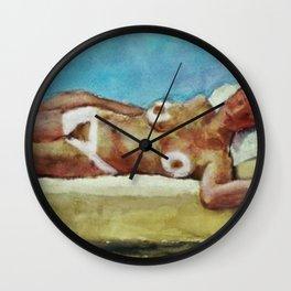 Nude figure in Interior (Arrondissement Left Bank, Paris 17) by Kees Van Dongen Wall Clock