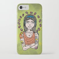 simpson iPhone & iPod Cases featuring Saint Simpson by A+A Noisome Art