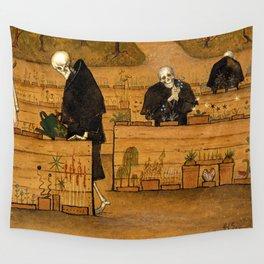 Hugo Simberg - The Garden of Death Wall Tapestry