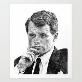 Robert F. Kennedy Art Print
