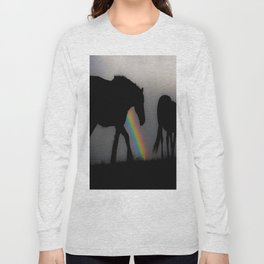 Silhouette of Color Long Sleeve T-shirt