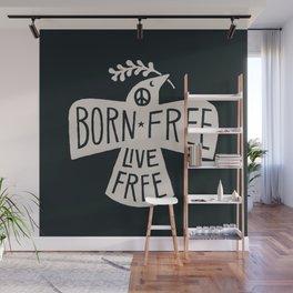 Born Free Wall Mural