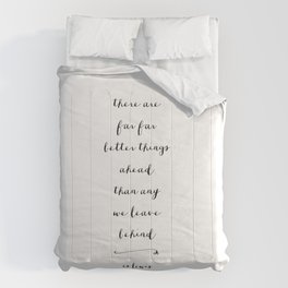 BETTER THINGS - B & W Comforters