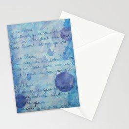 Lune Bleue No. 2 Stationery Cards