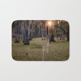 Witch's Hair at Sunrise on the Swamp Bath Mat