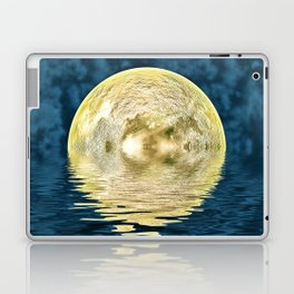 Golden moon Laptop & iPad Skin