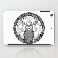 pentagram iPad Cases featuring The Watcher by Eurimos