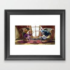 Power´s gathering Framed Art Print