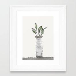 Vase 3 Framed Art Print