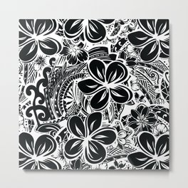 Savaii Polynesian Tribal Metal Print