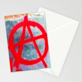 Anarchy Graffiti Stationery Cards