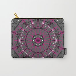 MANDALA ART IN PINK Carry-All Pouch
