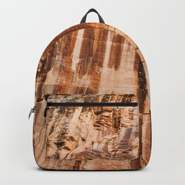 The red dust and the burnt cliffs Backpack