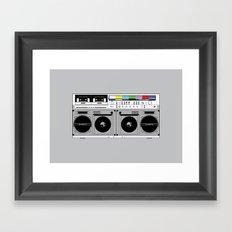 1 kHz #10 Framed Art Print
