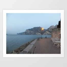 Lake Garda Art Print