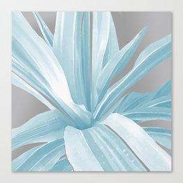 Tropical Blue Summer Canvas Print