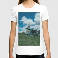 ford T-shirts featuring Ford Tractor by OctaviusEst