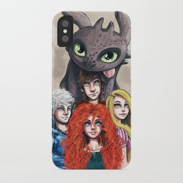 RISE OF THE BRAVE TANGLED DRAGONS iPhone Case