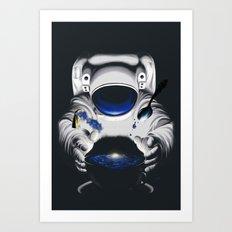 Cafe Galactica Art Print