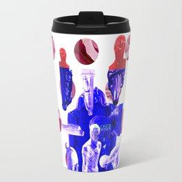"""Joy Division """"Closer"""" Album Cover Concept Travel Mug"""