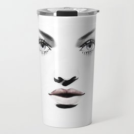 Fashion Illustration - Barbara Travel Mug