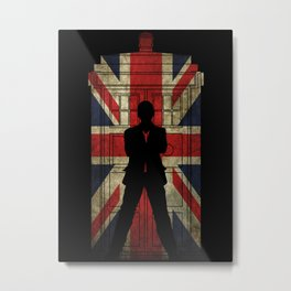 9th Doctor UK flag Metal Print