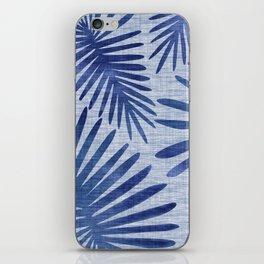 Mid Century Meets Mediterranean - Tropical Print iPhone Skin
