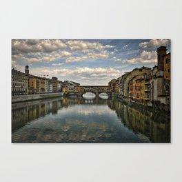 Point de Vecchio, Firenze, Italy Canvas Print